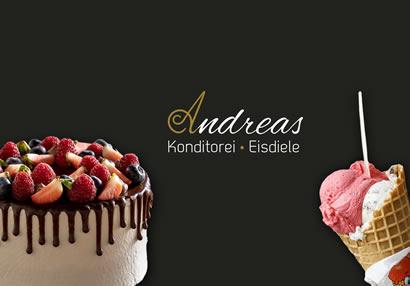 <strong>Konditorei Andreas</strong> // kreative Torten und leckeres Eis