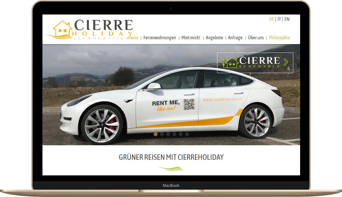 Webseite für Unternehmen in Südtirol